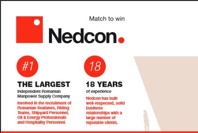 Nedcon Maritime Infographic - Nedcon Maritime Manpower Supply