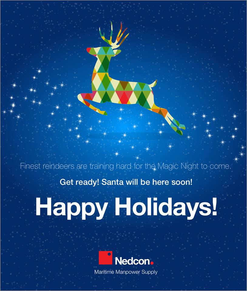 Nedcon Maritime Manpower Supply wishes you Happy Holidays!