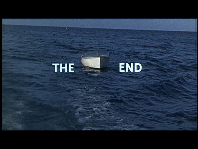 The End - Boat