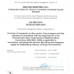 iso certificate 9001:2015